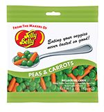 Jelly Belly Peas and Carrots Mellocreme Candies will delight your taste buds. Peas & Carrots Mix is a luscious mellocreme blend featuring Green Apple flavor peas and Orange Sherbet flavor baby carrots. Veggie Tales Birthday, Veggie Tales Party, Jelly Belly Beans, Jelly Beans, Online Candy Store, Carrot Greens, Kids Plates, Candy Companies, Baby Carrots