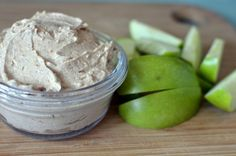 Greek Yogurt Apple Dip | Running Blonde