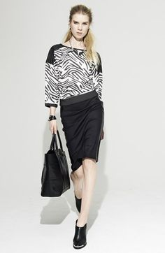 Trouvé Sweater & Skirt  available at #Nordstrom