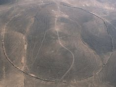 Satellite images show 12 Big Circles up to 1200 feet in diameter in Jordan and one in Syria. Archeologists are not certain who built them or why.