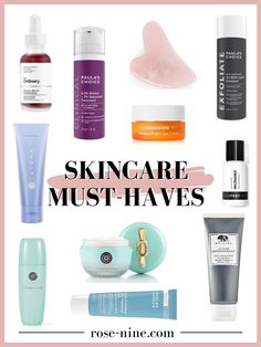 Face Care Routine, Face Care Tips, Face Skin Care, Beauty Products Gifts, Best Face Products, Skincare Routine, Beauty Routines, The Ordinary Aha 30, Best Hair Mask
