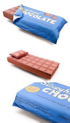 Chocolate Bed !!