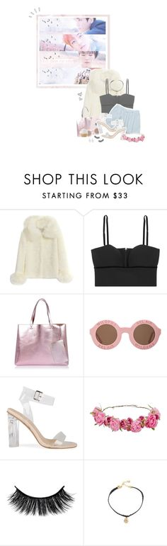 """""""Wildest dream..."""" by glitterlovergurl ❤ liked on Polyvore featuring Old Navy, Alexander McQueen, Levi's, River Island, Wildfox, Vanessa Mooney and L. Erickson"""