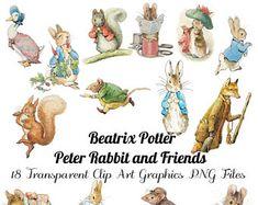 Related image 1 Clipart, Rabbit Clipart, Beatrix Potter, Rabbit Png, Rabbit Cake, Peter Rabbit And Friends, Rabbit Illustration, Craft Sites, Vintage Easter