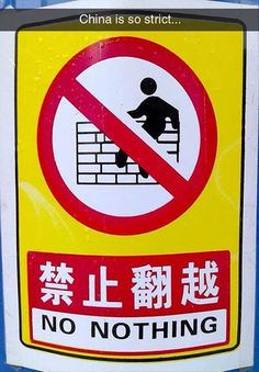 China Is So Strict funny lol china humor funny pictures funny photos funny images hilarious pictures Funny Images, Funny Pictures, Lost In Translation, Laughing So Hard, Funny Signs, Tumblr Funny, I Laughed, Laughter, Haha