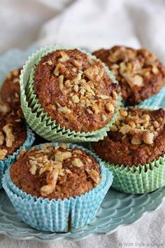 Paleo Banana Bread Muffins #WithStyleandGrace