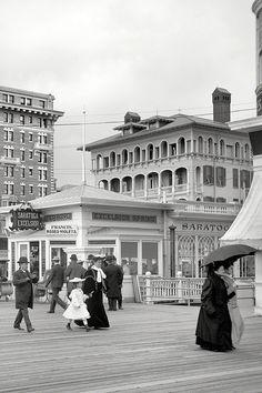 Scenes of Atlantic City, New Jersey, 1905.