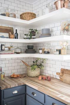 Home Decor Kitchen, Interior Design Kitchen, Diy Kitchen, Kitchen Ideas, Simple Kitchen Design, Kitchen Corner, Smart Kitchen, Kitchen Trends, Interior Modern