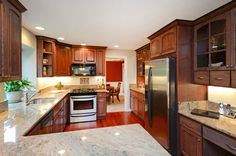 like the design of kitchen