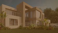 Archid Architecture offers the huge range of comprehensive residential and commercial architecture home design services in South Africa. We provide high quality & innovative services to our clients to get a perfect result & output. Single Floor House Design, Simple House Design, Modern House Design, Architectural Design House Plans, Architecture Design, Architectural Firm, One Level House Plans, House Plans South Africa, African House