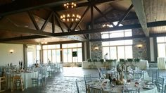 Check out this gorgeous, rustic venue at Sprucewood Shores Estate Winery in Amherstburg, ON