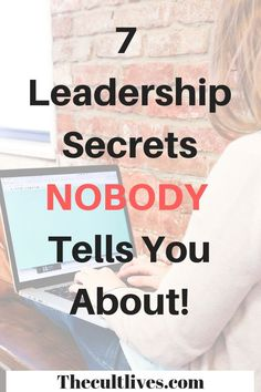 Learn the 7 leadership secrets that nobody tells you about. These are the 7 things that you need to consider while developing your leadership skills! Good Leadership Skills, Leadership Strategies, Leadership Abilities, Leadership Coaching, Leadership Roles, Leadership Development, Effective Leadership, Educational Leadership, Life Coaching