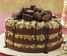 Increíble pastel de Chocolate Alemán                                                                                                                                                      Más