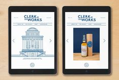 Picture of 9 designed by Here Design for the project Clerk of the Works. Published on the Visual Journal in date 23 November 2016 Layout Design, Web Design, Whisky Shop, Single Malt Whisky, 23 November, Interactive Design, Design Projects, Liquor, It Works