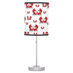 #home #lamps #decor - #childrens red crab lamp