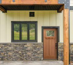 Masonite Craftsman-style exterior door