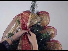 Cómo decorar tu árbol de Navidad en 6 sencillos pasos. - YouTube