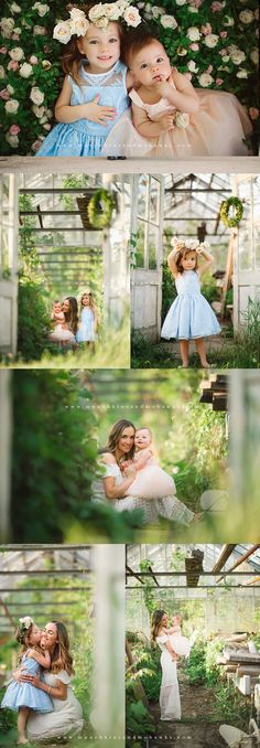 Garden Girls | Pittsburgh Child and Family Photographer