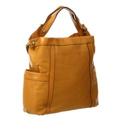 @Overstock - This Kennington hobo bag from Presa features soft leather construction and goldtone hardware. The extra-large shape and pockets add functionality to this stylish handbag.http://www.overstock.com/Clothing-Shoes/Presa-Kennington-Oversized-Leather-Hobo-Bag/4109778/product.html?CID=214117 $99.99