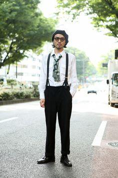 ストリートスナップ [Matsu] | American Optical, used, vintage, アメリカンオプティカル, ヴィンテージ, 古着 | 原宿 | Fashionsnap.com