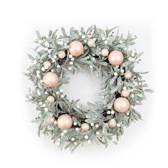 This LC Lauren Conrad artificial botanical Christmas wreath is sure to complement your chic winter wonderland decor. Rose Gold Christmas Decorations, Xmas Decorations, Christmas Tablescapes, Christmas Holidays, Christmas Crafts, Christmas Trends, Disney Christmas, Christmas Goodies, White Christmas