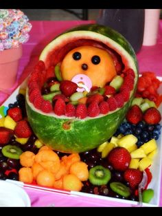 Fruit For A Baby Shower   Google Search