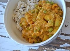 Potato, Yam  Chickpea Coconut Curry.  I have a recipe very similar to this, but this looks even better.