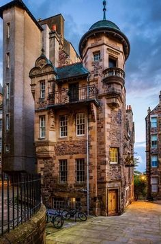 The Writers Museum, Edinburgh, Scotland, UK - Joe Daniel Price. Edinburgh is a fantastic place to go! Places Around The World, Oh The Places You'll Go, Places To Travel, Travel Destinations, Places To Visit, Around The Worlds, Beaux Villages, England And Scotland, Scotland Uk
