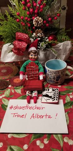 Elf On The Shelf, Christmas Ornaments, Chair, Holiday Decor, Home Decor, Decoration Home, Room Decor, Christmas Jewelry, Interior Design