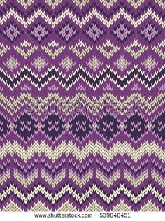 Knitted pattern