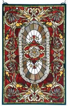 ...this will hang in my bathroom window and the morning sunlight will shine through.