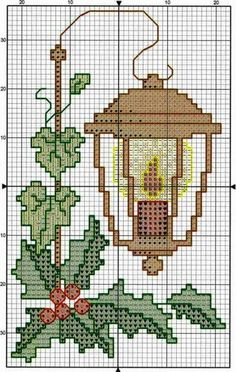 Risultati immagini per ub design weihnachten zu hause Christmas Charts, Cross Stitch Christmas Ornaments, Xmas Cross Stitch, Cross Stitch Borders, Christmas Embroidery, Cross Stitch Charts, Cross Stitch Designs, Cross Stitching, Cross Stitch Embroidery