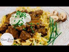 Beef Stroganoff Recipe - Laura Vitale - Laura in the Kitchen Episode 831 - YouTube