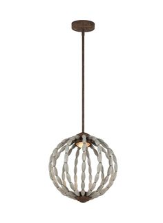 Dutra 1 Light Globe Pendant