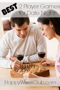 The BEST 2 Player Games for Date Night! Some of these are already favorites and I can't wait to try others out!!