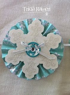 Thursday, 15 August 2013 The Speckled Sparrow: Stampin' Up! Christmas Banner Accessory kit