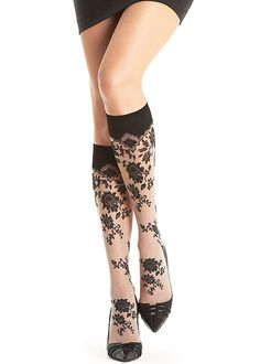 Oroblu Francine Knee Highs