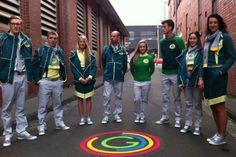 Australia's Commonwealth Games uniforms 2014