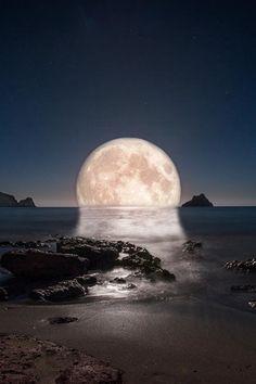 Enigmatic Moon