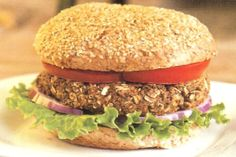 Veggie Burger from Engine 2 Diet by Rip Esselstyn (contains oats) SF/GF/YF/OF/CF/NF - made this last week. good, and my husband actually liked it! (he always makes fun of the thought of him ordering a black bean burger in lieu of a real hamburger when we're in restaurants). hearty & good, and a good base where you can make your own adaptations for different flavors.