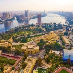 Cairo egypt ( opera house &nile river )