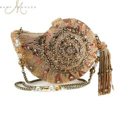 Mary Frances beaded embellished handbags fuse whimsy with elegance, femininity with functionality. Embellished Purses, Beaded Purses, Beaded Bags, Mary Frances Purses, Mary Frances Handbags, Vintage Purses, Vintage Handbags, Vintage Hats, Fashion Handbags