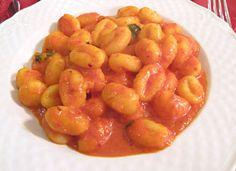 Gnocchi alla 'nduja - CucinaTu.net Nduja spicy spreadable salami