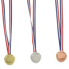 """""""1st"""", """"2nd"""" & """"3rd"""" Place Award Medals - OrientalTrading.com"""
