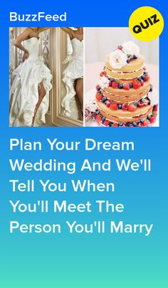Plan Your Dream Wedding And We'll Tell You When You'll Meet The Person You'll Marry Buzzfeed Personality Quiz, Personality Quizzes, Buzzfeed Quiz Funny, Quizzes Buzzfeed, Quizzes Funny, Random Quizzes, Weddings Under 5000, Fun Quizzes To Take, Friend Quiz