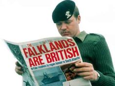 June 14, 1982 – The Falklands War ends: Argentine forces in the capital Stanley unconditionally surrender to British forces