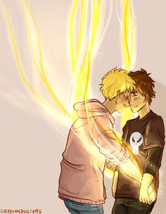 """more of will controlling sunlight and bonus solangelo"" 