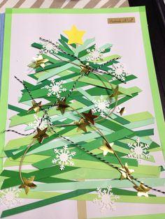 Christmas tree scrap DIY