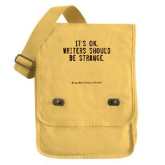 Writers Quote Field Bag