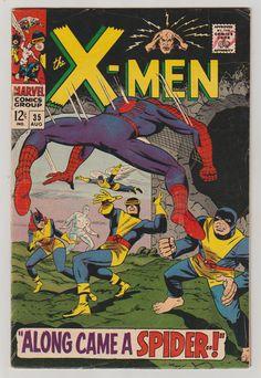 Uncanny X-Men Vol 1 35 Silver Age Comic Book. by RubbersuitStudios